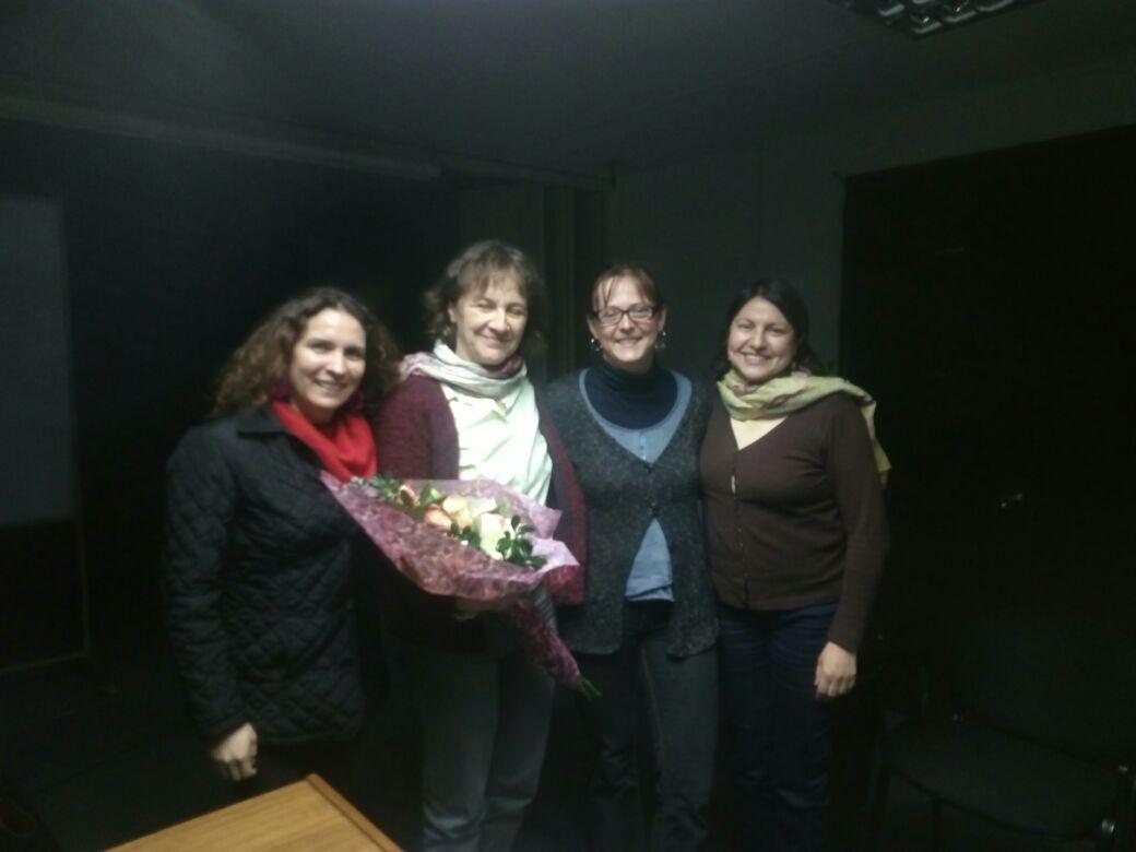 Visita de Susanne Bauer