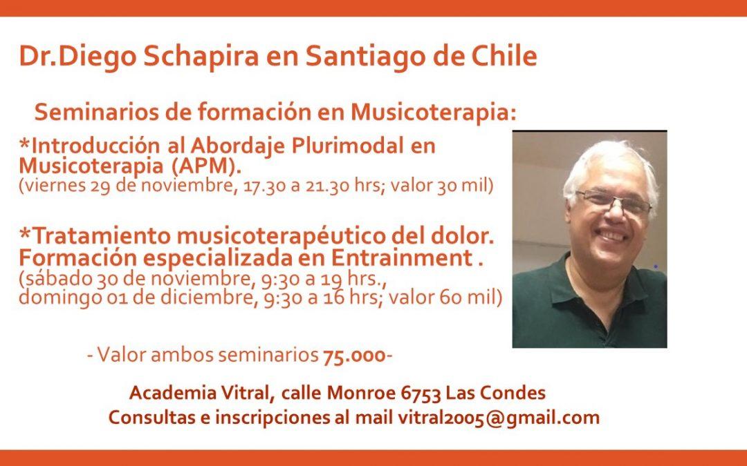 Diego Schapira en Chile