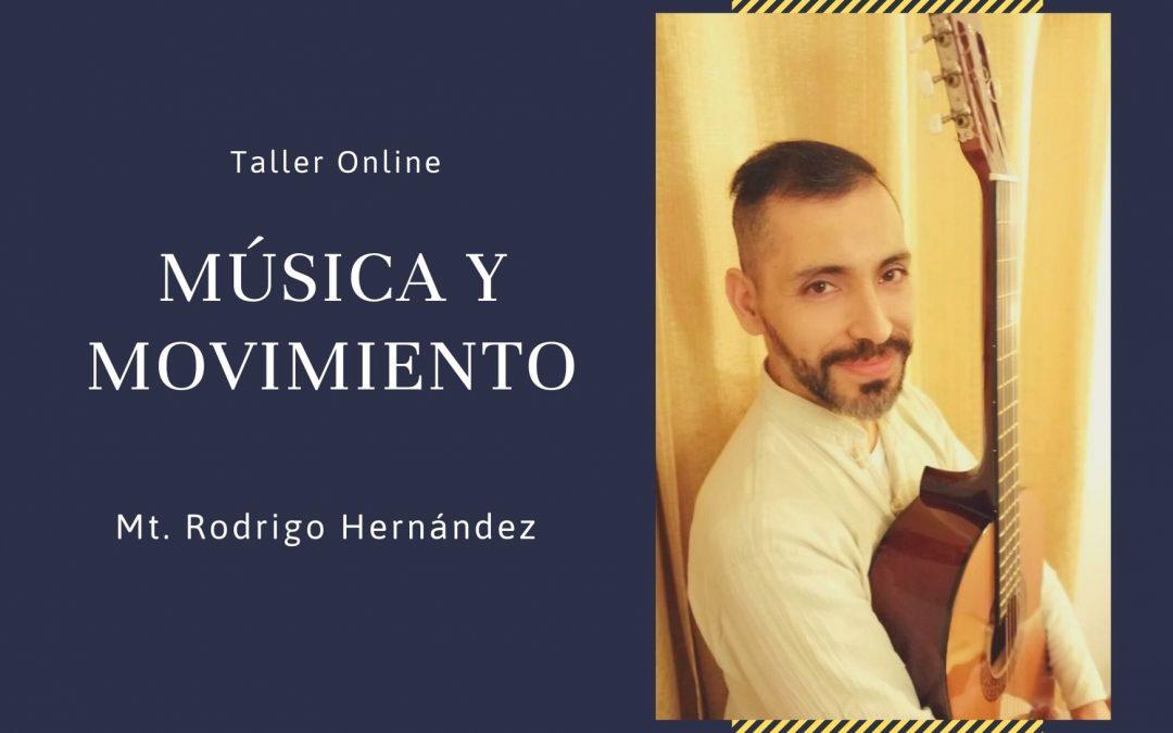 """Taller Online """"Música y Movimiento""""."""